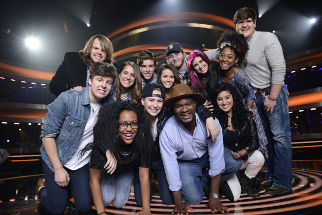 American Idol Season XIII Top 13