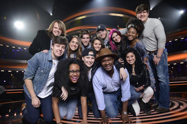 American Idol Season XIII Top 13