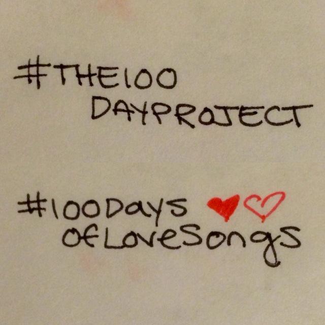 100DaysOfLoveSongs