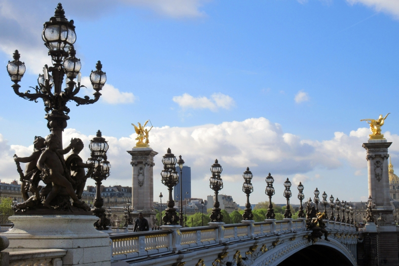 paris france pont alexandre iii