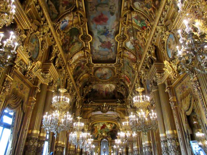 palais garnier opera paris france