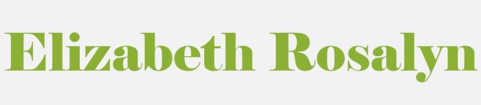 elizabeth rosalyn logo 2017
