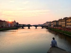 florence firenze italy italia ponte santa trinita