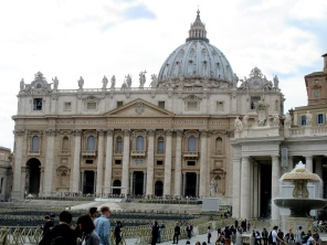 rome italy roma italia st peters basilica