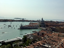venice italy venezia italia view from bell tower