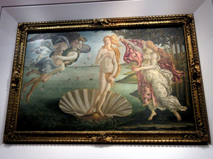uffizi botticelli birth venus