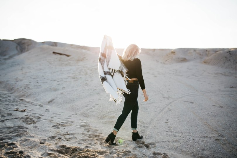 woman girl beach sand brooke cagle