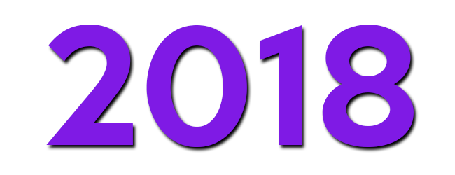 year 2018 ultra violet
