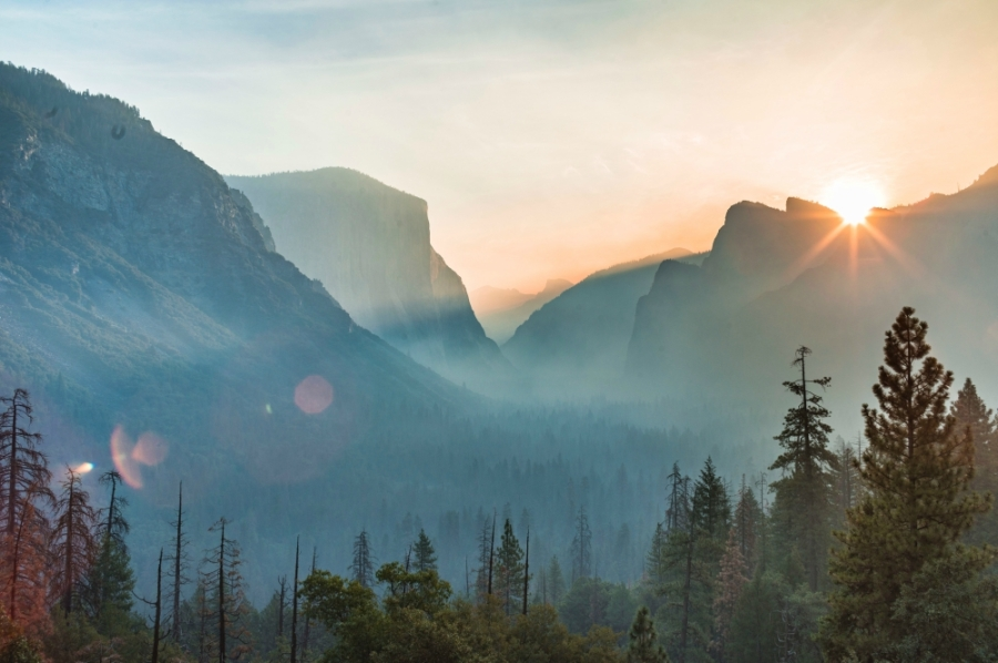 yosemite valley sunrise bailey zindel
