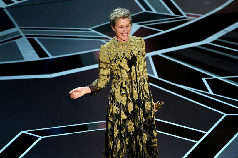 Frances McDormand at the 90th Annual Academy Awards Oscars