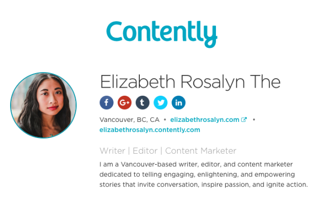 contently elizabethrosalyn profile